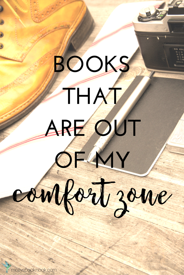 Books out of my comfort zone