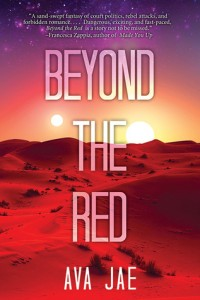 Beyond the Red by Ava Jae // A little lacking…