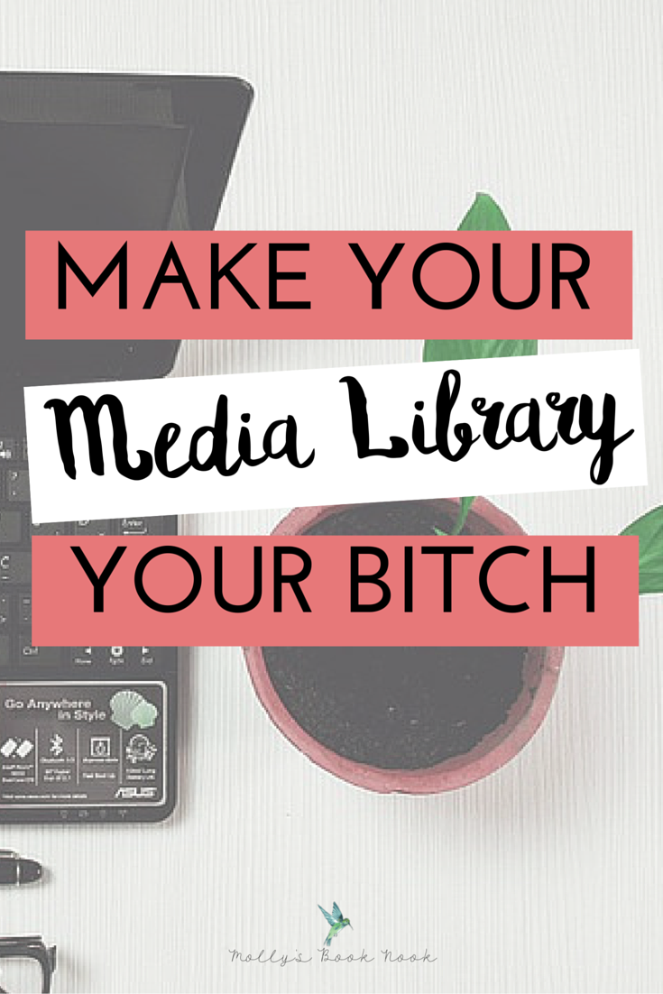 Make Your Media Library Your Bitch - How To Optimize Your Blog's Media Library (2)