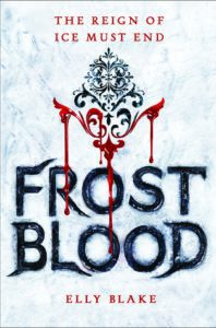 Frostblood by Elly Blake // I'm Intrigued but Not Overly Impressed